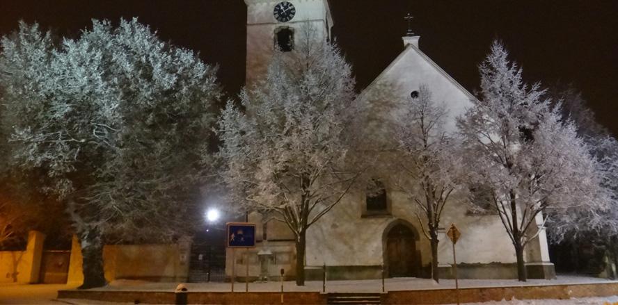 Noční procházka Vojkovicemi