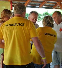 Setkání obcí s názvem Vojkovice