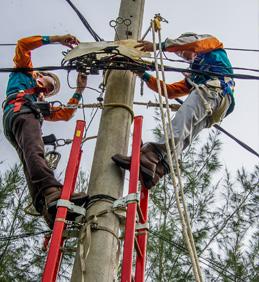 Vypínání elektrického proudu ve Vojkovicích