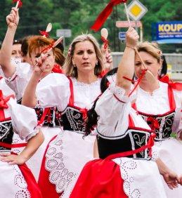 Pozvánka: Babské hody Vojkovice