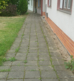 Oprava chodníku vulici Vodní