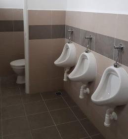 Rekonstrukce toalet v sokolovně