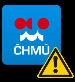 Varování ČHMÚ na 24.-26.8.2019