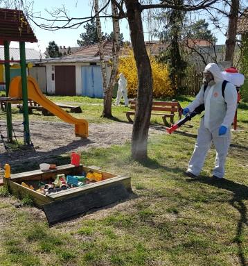 Dezinfekce vObci Vojkovice