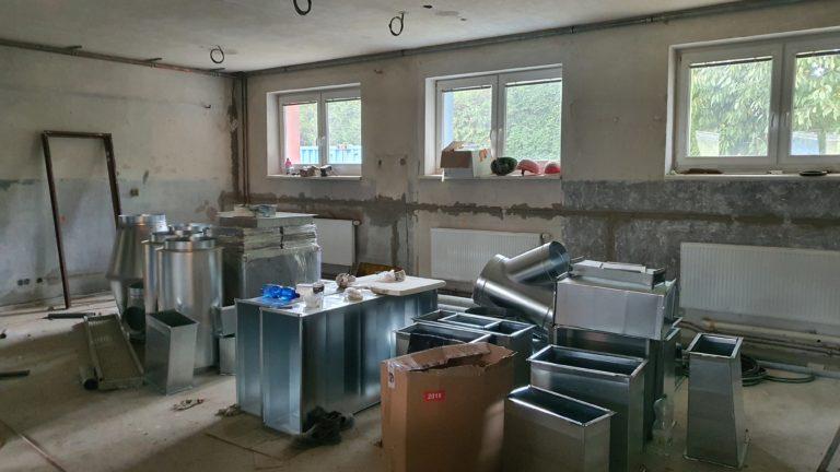 6.Rekonstrukce školní kuchyně