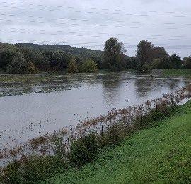 Řeka Svratka opět vycenila zuby