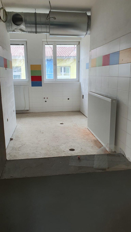 Rekonstrukce kuchyně a jídelny v MŠ 1