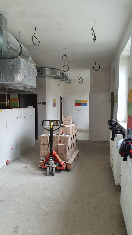 Rekonstrukce kuchyně a jídelny v MŠ 2