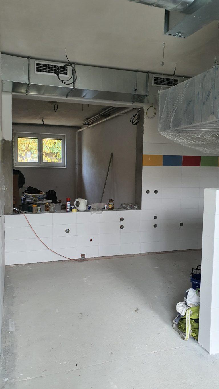 Rekonstrukce kuchyně a jídelny v MŠ 3