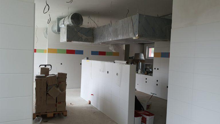 Rekonstrukce kuchyně a jídelny v MŠ 5