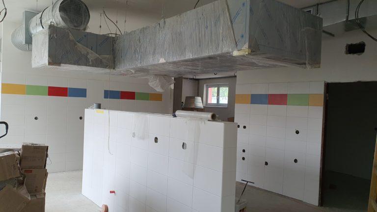Rekonstrukce kuchyně a jídelny v MŠ 6