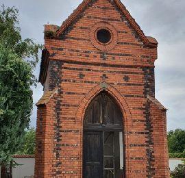 Oprava kaple na místním hřbitově